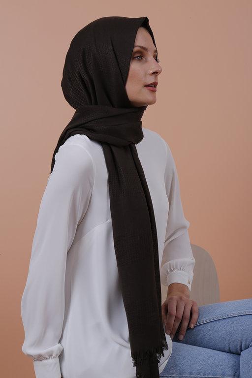 Eyfel Şal Knitted Pattern Shawl