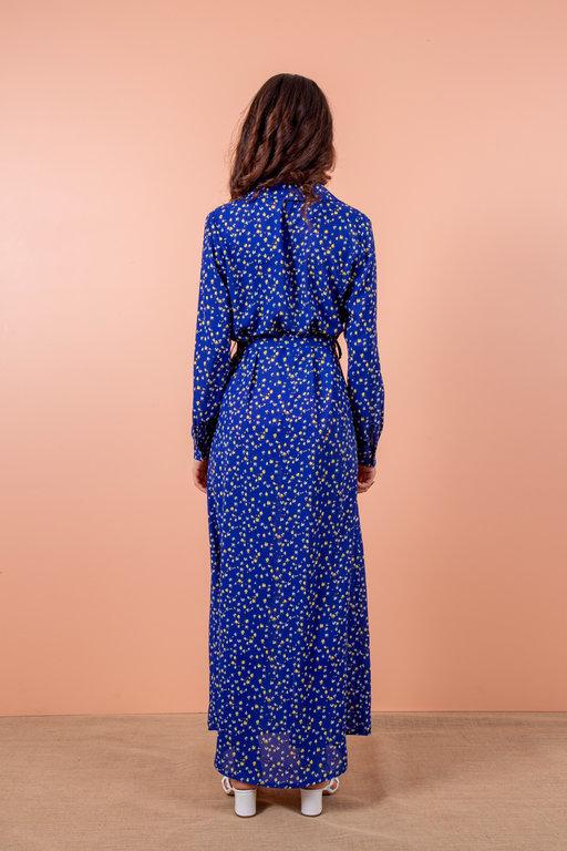 Radia Shaker Tulip Dress