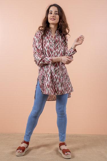 Radia Shaker Madeline Bluz