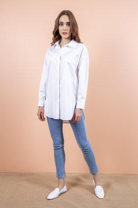 Radia Shaker Swan Gömlek