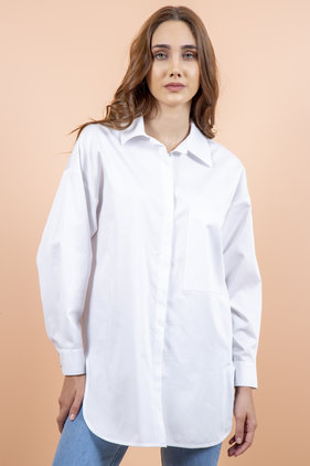 Radia Shaker Swan Shirt