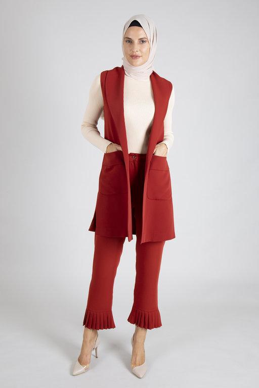 Radia Shaker Sepya Vest