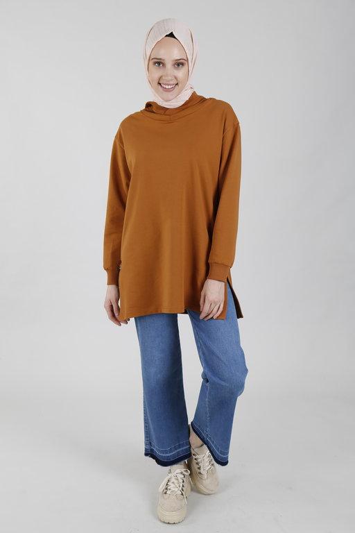 Allday Agata Kapüşonlu Sweatshirt