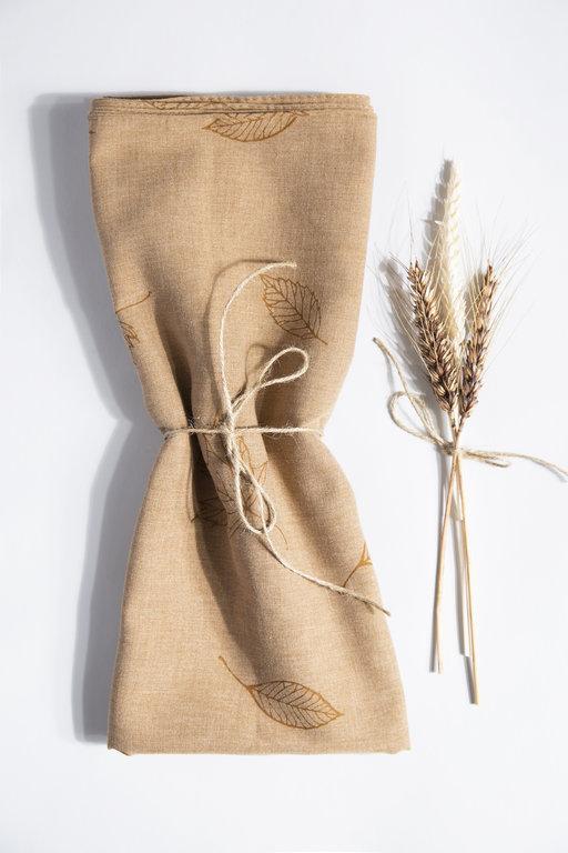 Eyfel Şal Leaf Patterned Shawl