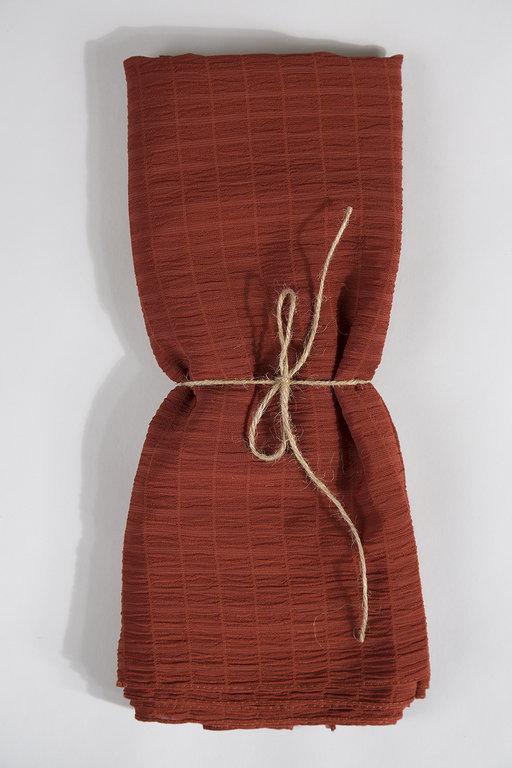 Anna Lucci Self Striped Crease Fabric Shawl
