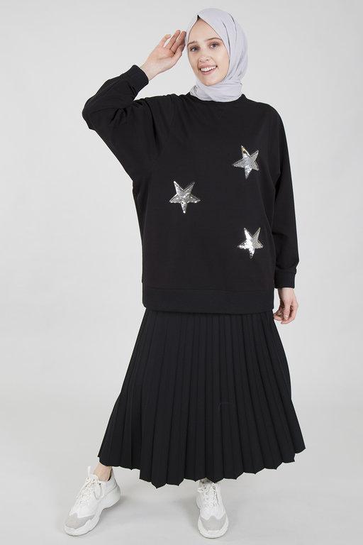 Radia Shaker Star Sweatshirt