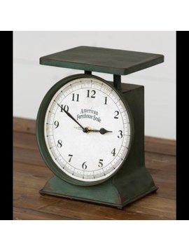 Farmhouse Scale Clock