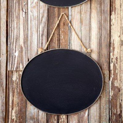 Large Oval Blackboard