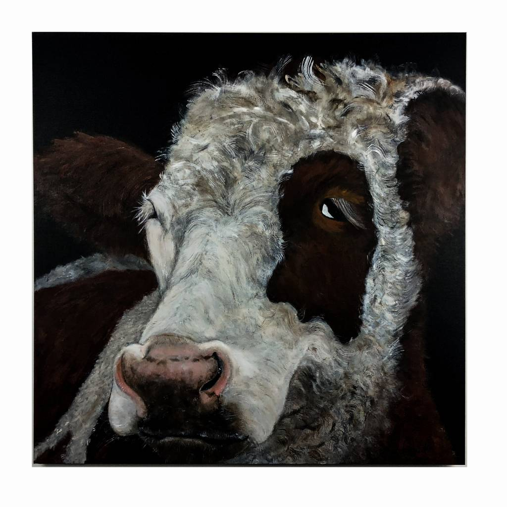 George Cow Painting