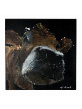 Hazel  Cow Painting