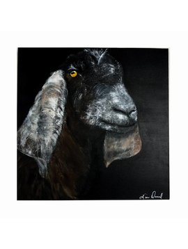 Hester Goat Painting