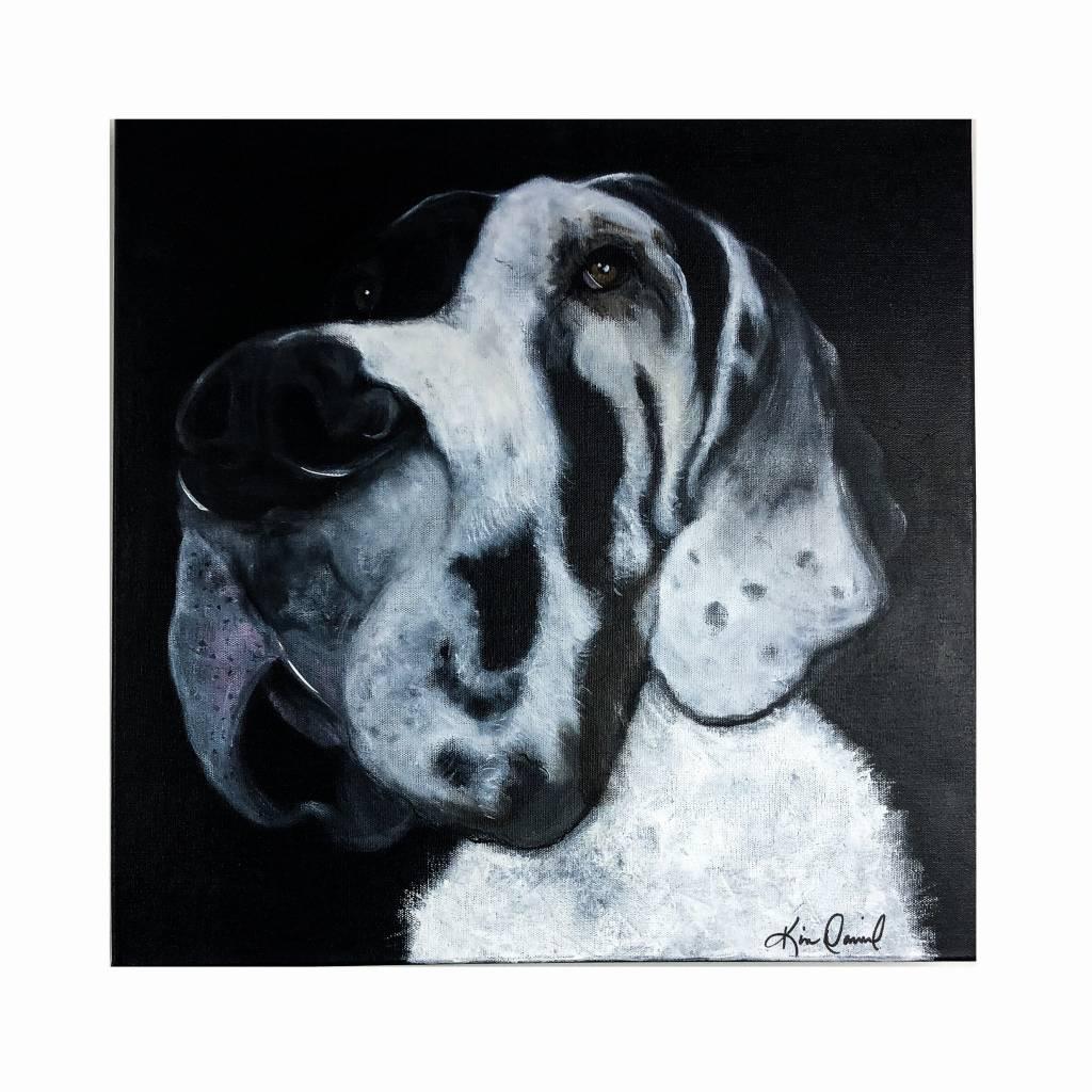 Milton Dog Painting