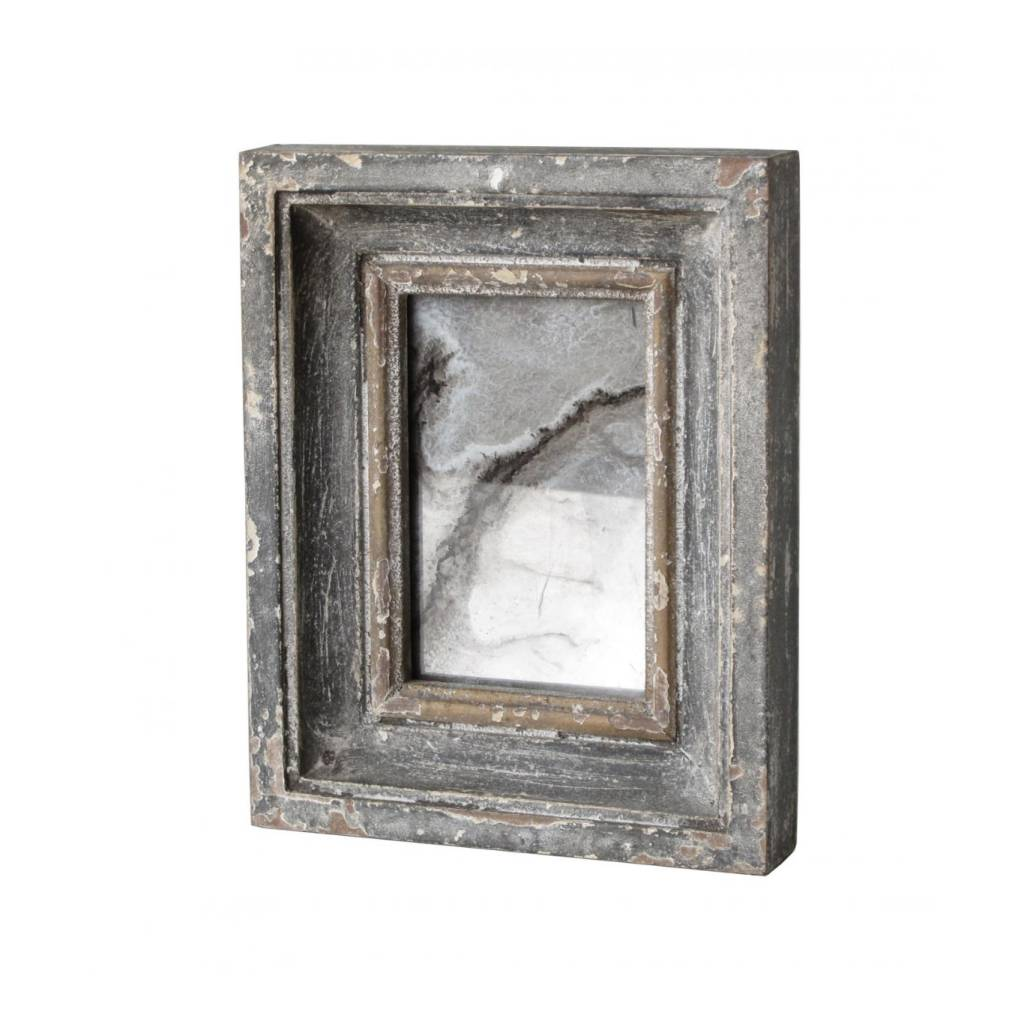 Carved Frame Mirror Small