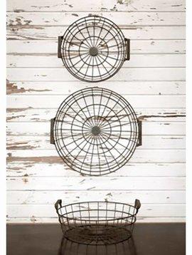 Shallow Wire Basket