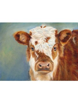 Red Cow (Print)