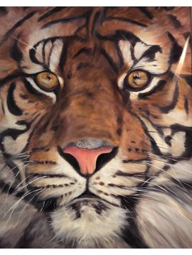 Tiger Up Close (Print)