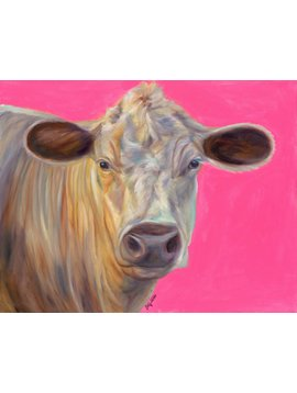 Electric Cow Pink