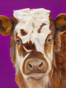 Electric Purple Cow