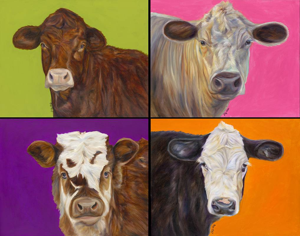 Electric Cows 4up