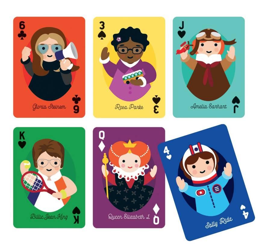 Hachette Books Little Feminist Play Cards