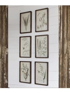 Feed Grain Shadow Box Prints