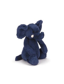 Bashful Blue Elephant- Medium