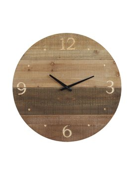 Laser Cut Wood Clock