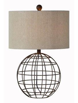 Rusty Table Lamp