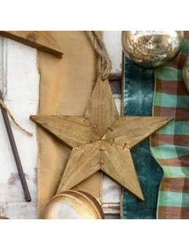 Small Reclaimed Wood Star Ornament