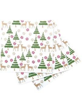 Deer Tree Paper Napkin