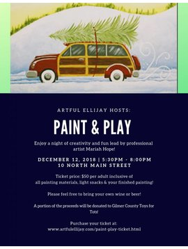 Paint & Play Ticket