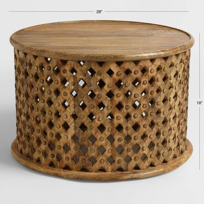 Abdalla Hand Carved Table