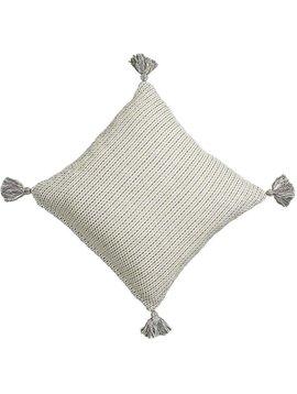 Gray Dot 18x18 PIllow