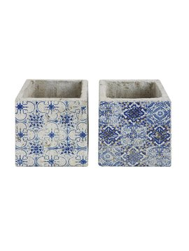 Cement Tile Planter