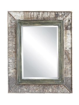 Wood Mirror w/ Birch
