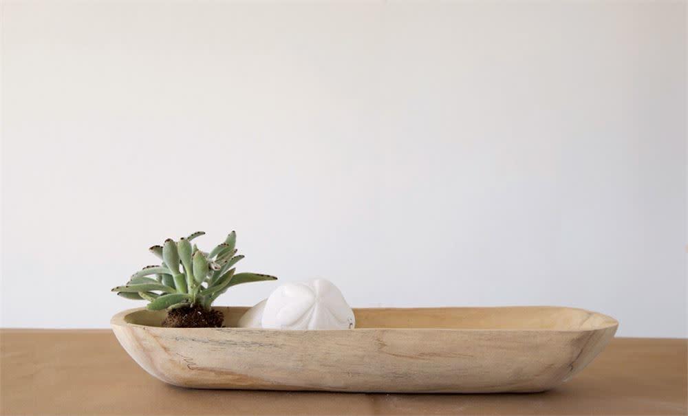 Paulownia Wood Bowl