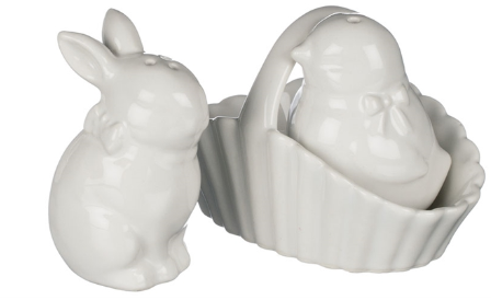 Rabbit/Chic Salt and Pepper Shakers
