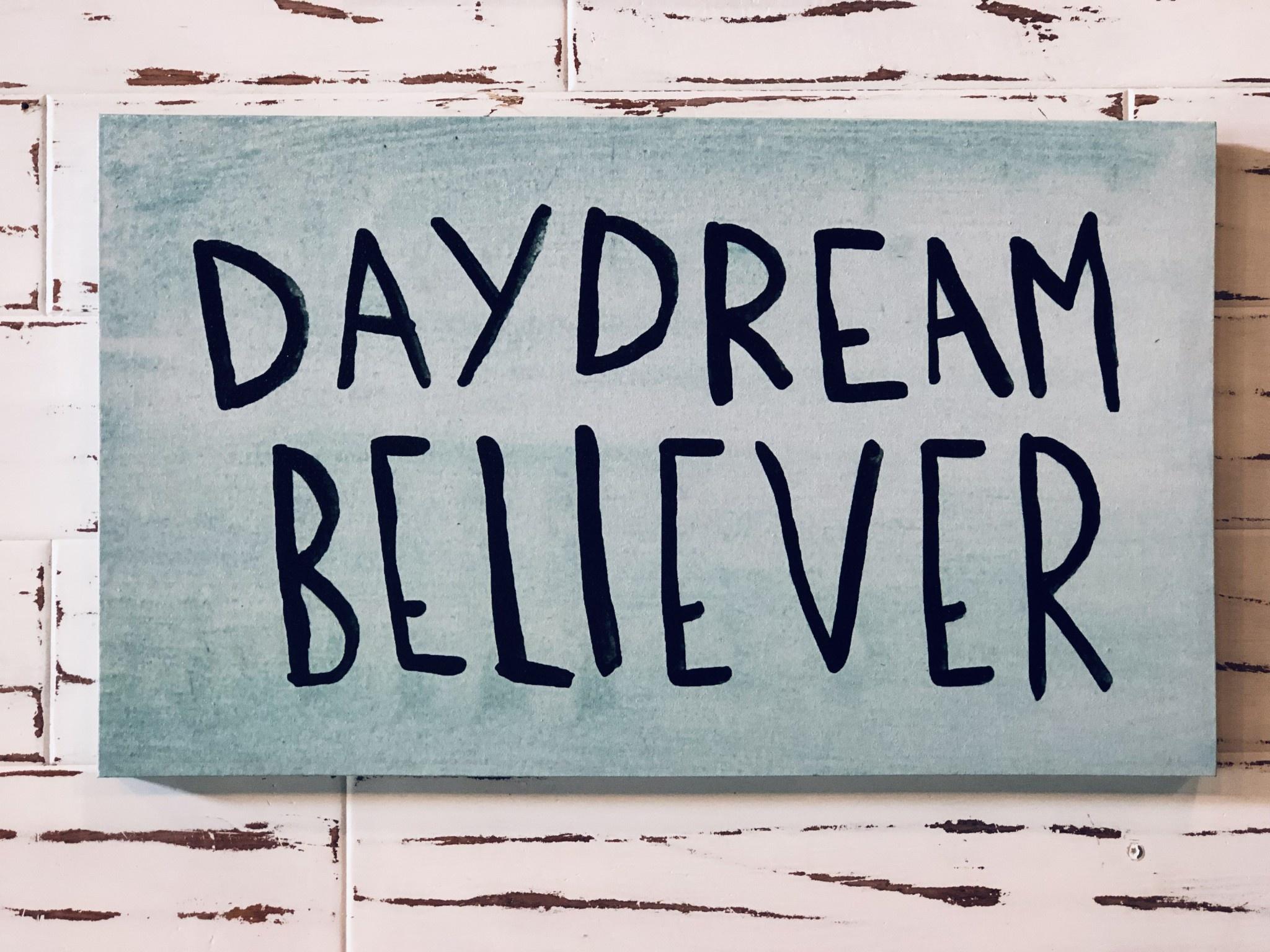 Daydream Believer Wall Decor