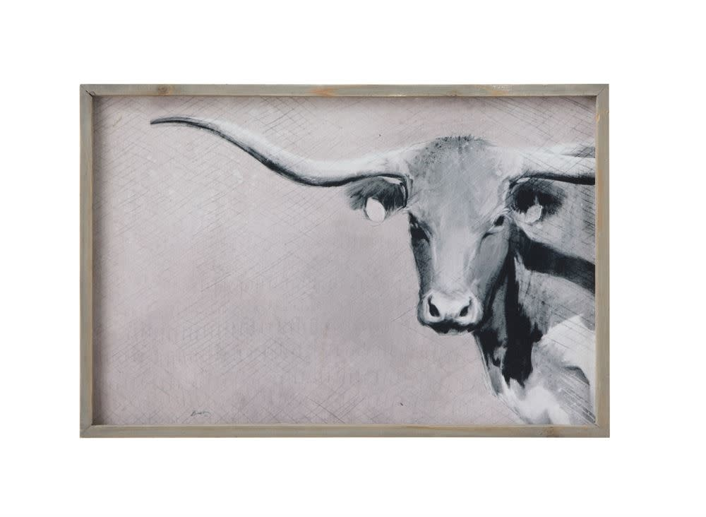 Long Horn Wall Decor