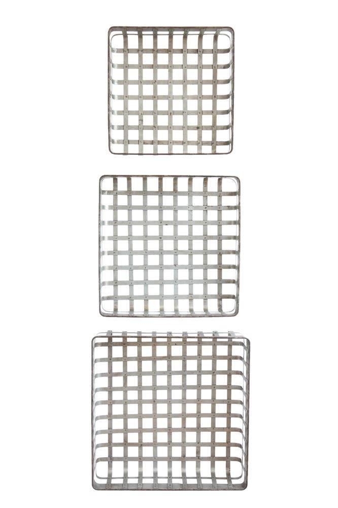 Galvanized Metal Baskets