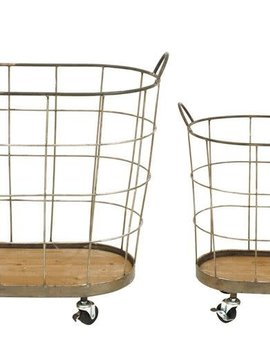 Metal Wire Laundry Basket