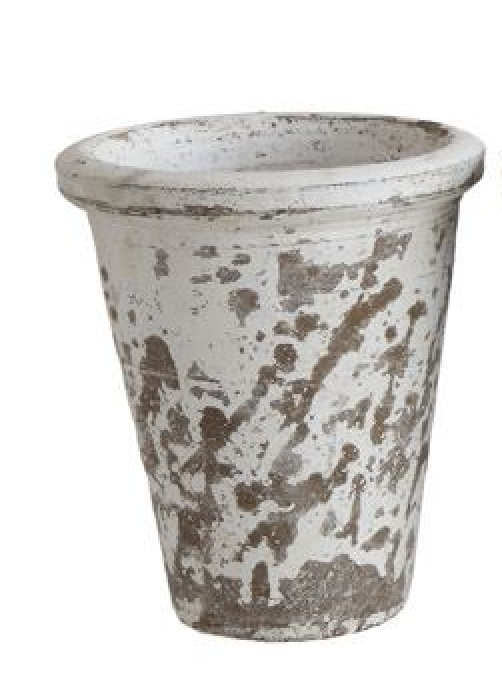 Distressed Clay Pot
