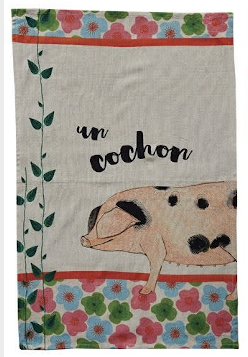 Animal Cotton Tea Towel