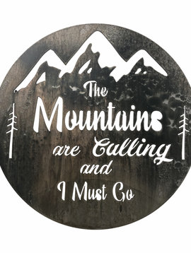 """The Mountains Are Calling 18"""""""