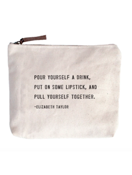 Sugarboo & Co. Pull Yourself Together Canvas Bag