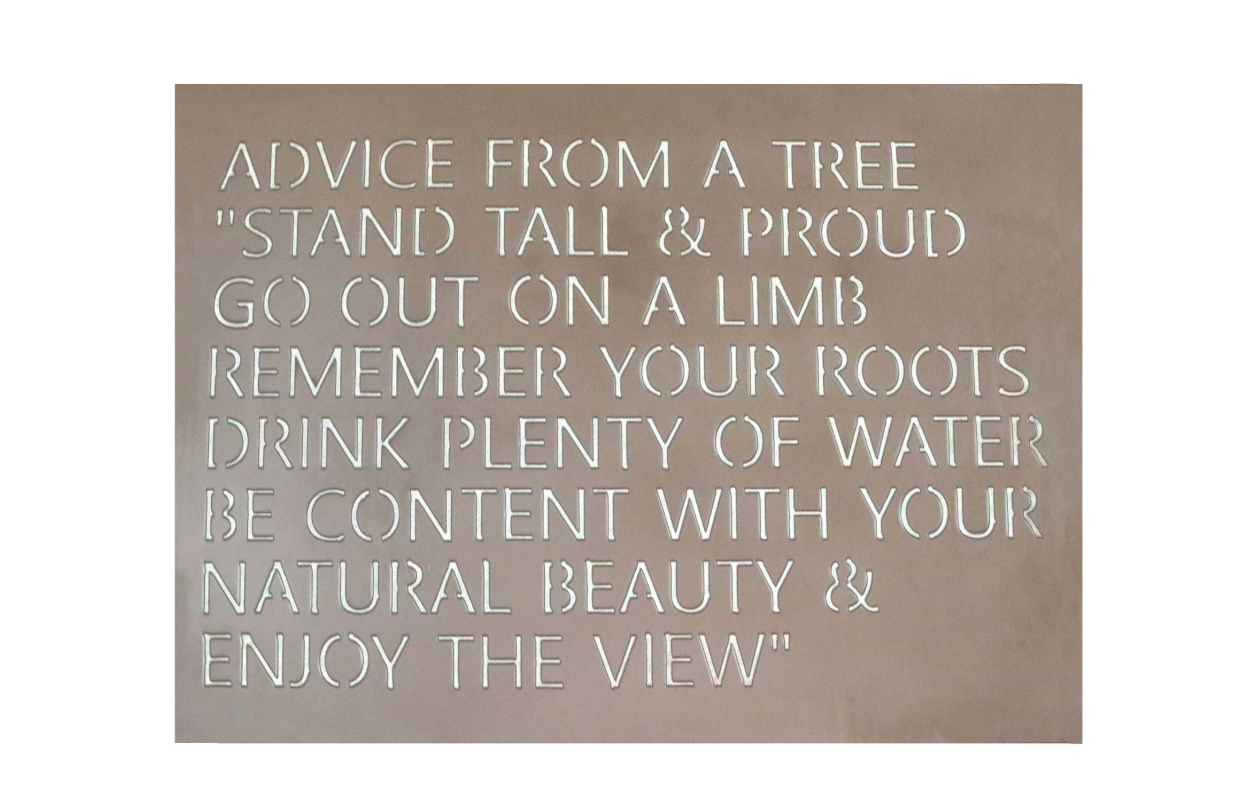 Advice From A Tree Saying