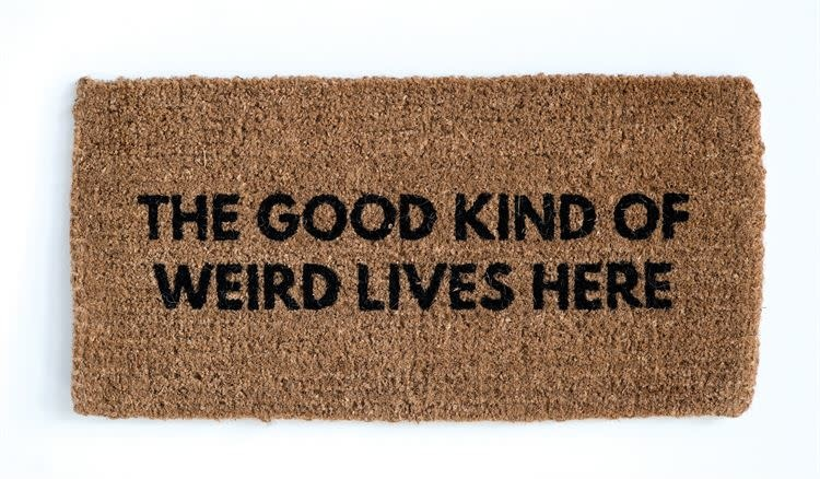 Good Kinda Weird Doormat