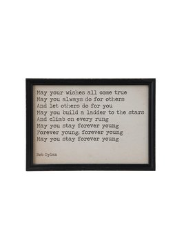 """""""May Your Wishes All Come True"""" Wall Decor"""