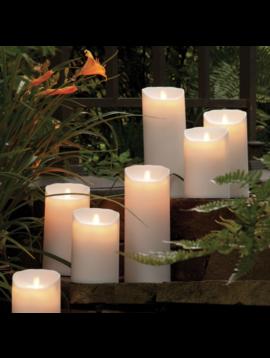 Lightli Moving Flame Pillar