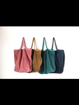 Cotton Corduroy Tote Bag